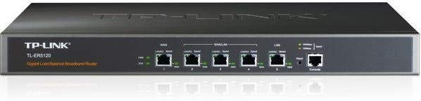 TP-LINK Router TL-ER5120 5port MultiWAN Gigabit Load Balance