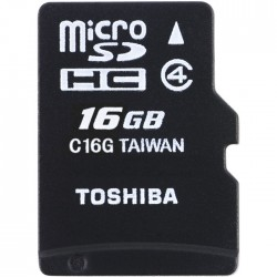 Toshiba micro SD HC High Speed 16GB Class 4 M102