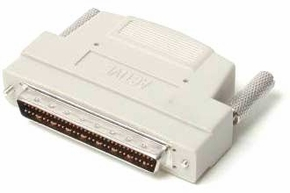 Centronics 50-Pin Female to 68-Pin HD68 Male SCSI Adapter