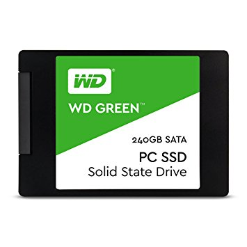 "Westen Digital SSD 240GB Green PC2,5""/25nm/MLC/Sata3 WDS240G2G0A"