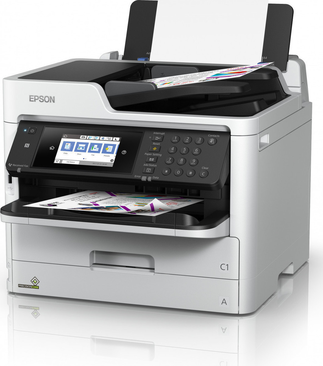 Epson WorkForce WF-C5790DWF A4 34ppm PSC-Fax W-L-U/Duplex