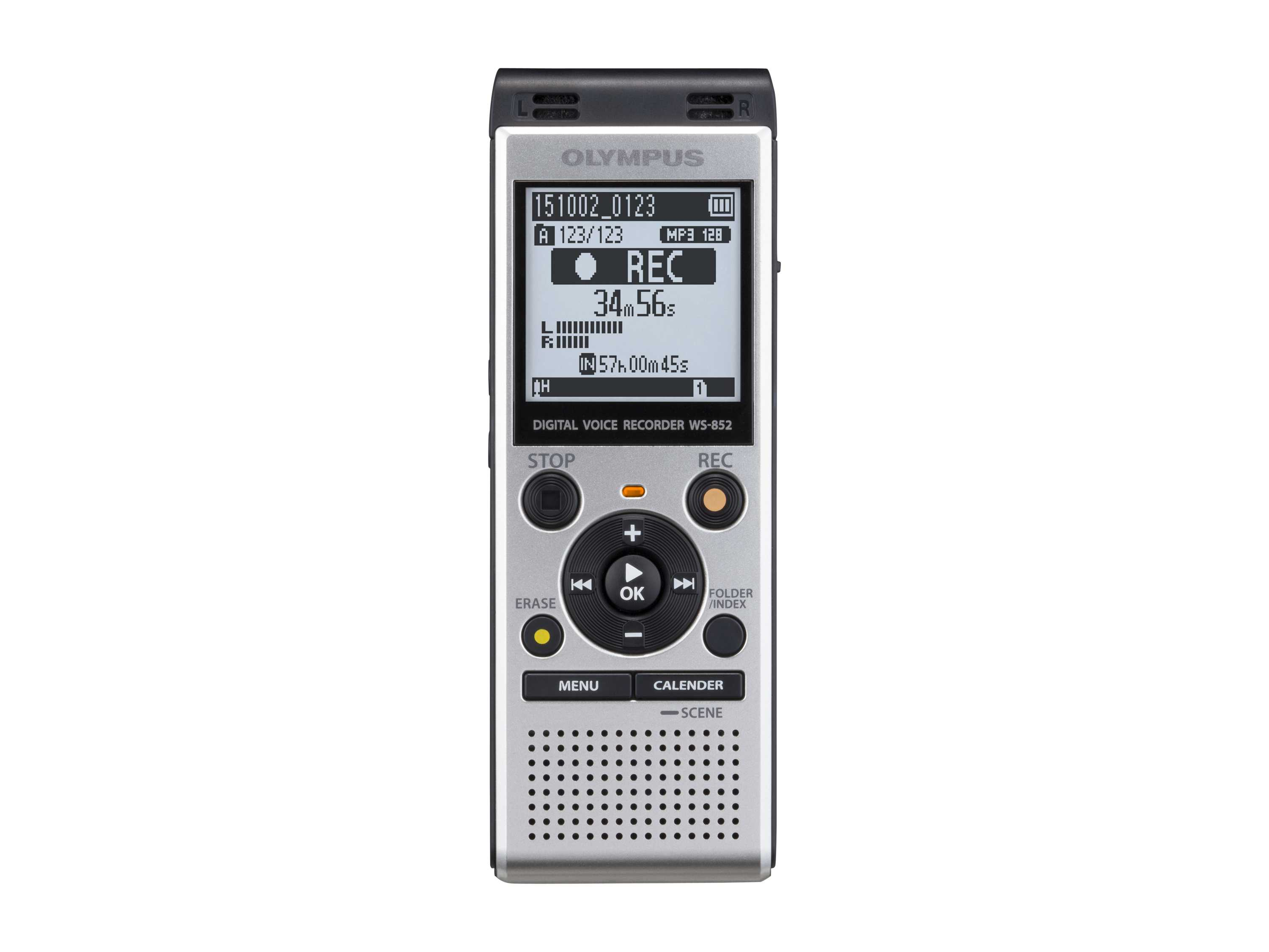 Olympus WS-852 Digital Voice Recorder+Music Player 4Gb + SD
