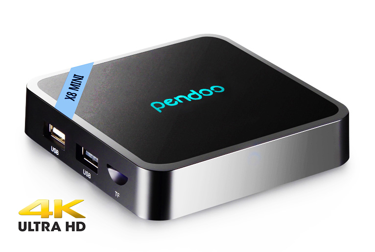 Android TV BOX QuadCore 2GB-16Gb Kodi 4K HDMI AV SD WiFi Pendoo