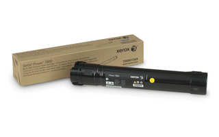 Toner XEROX PHASER 7800 Black High-Capacity 24k pages 106R01569