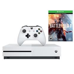 Microsoft XBOX One S 500GB Battlefield 1 Console ZQ9...