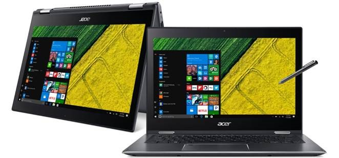 ACER SPIN Ultra MultiTouch i5-8250U/8G/256SSD/W10 SP513-52N 524B