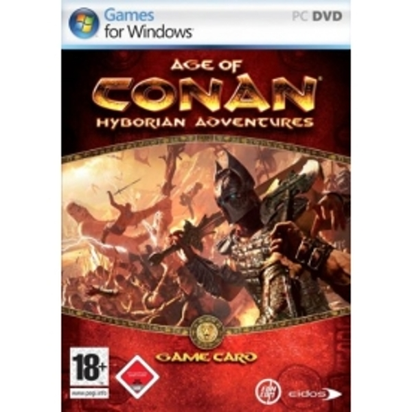 PC GAME : AGE OF CONAN:HYBORIAN ADVENTURES GAME CARD 60Days