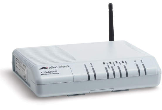 Allied Telesys Router ADSL AT-iMG634W Annex A / B VOIP 2x FXS
