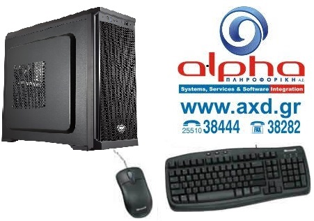 Alpha PC Economy  i3-10Gen 3.60G/8Gb/240SSD+1TB/DRW Win10GR