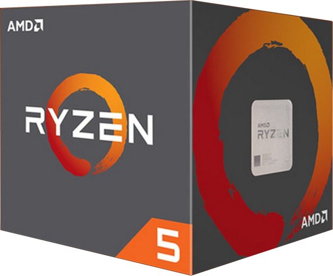 AMD CPU Ryzen 5 2600 AM4 3.90GHz 3MB