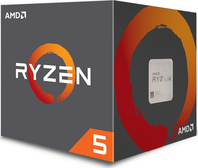 AMD CPU Ryzen 5 2600X 3.60GHz AM4 19MB