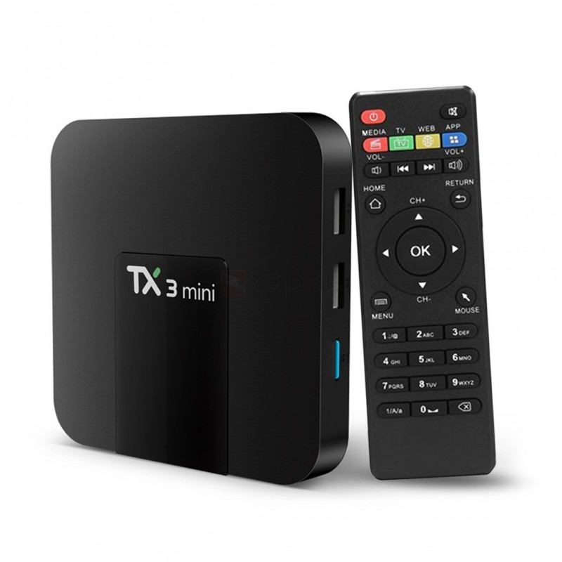 Android TV BOX QuadCore 2GB-16Gb Kodi 4K HDMI AV SD