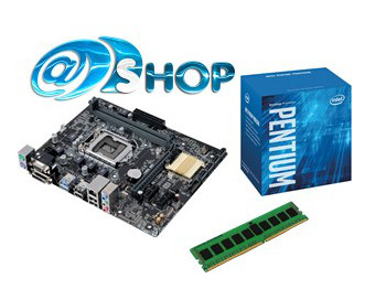 Alpha Upgrade Kit Intel G4400/H110/4GB Intel New GEN