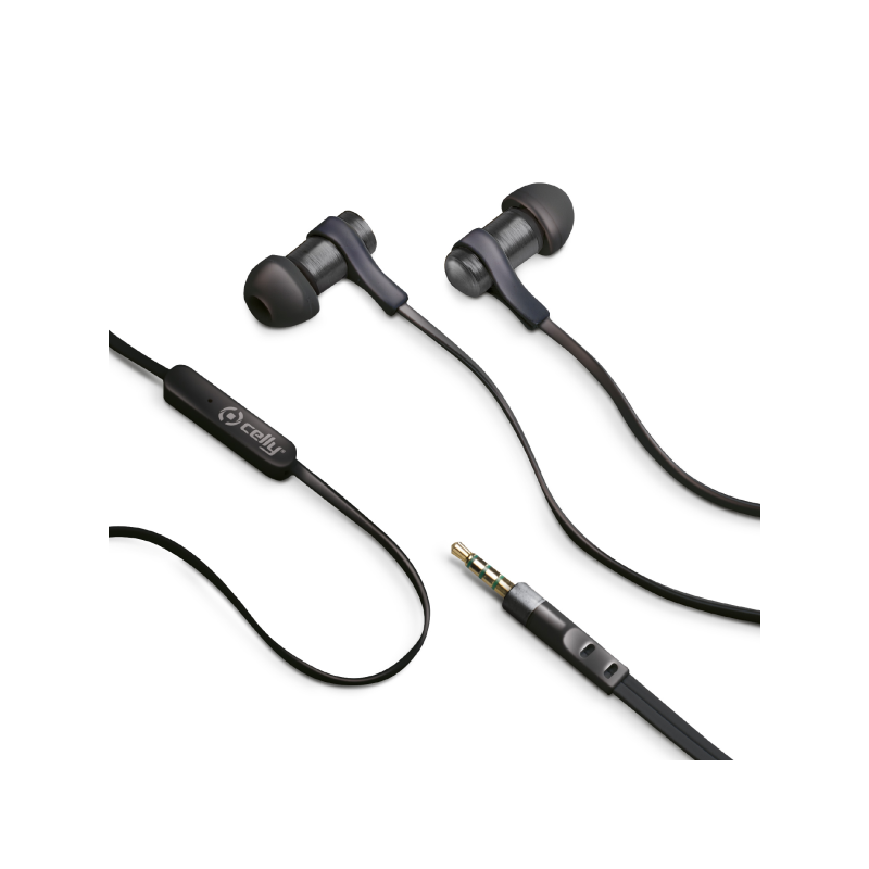 Celly Stereo Handsfree 3.5 mm SP Grey