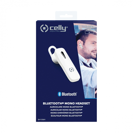 CELLY BH10WH Headset Sound Bluetooth