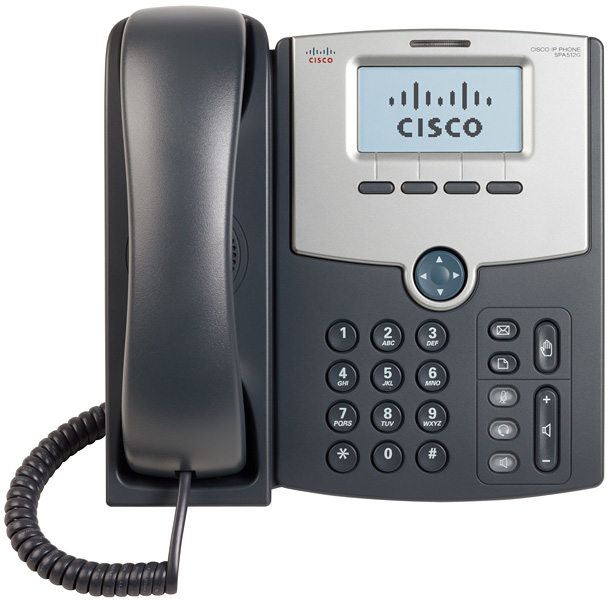 Τηλέφωνο Cisco SPA512G IP Phone Telephony 1 Line