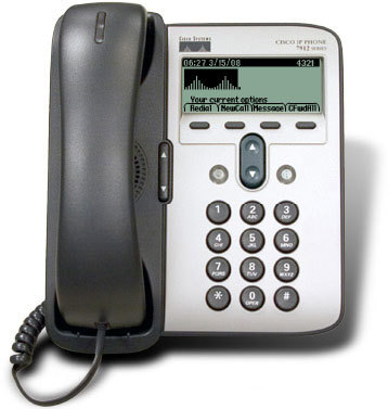 Τηλέφωνο CISCO Unified IP Phone 7912G Silver/Gray