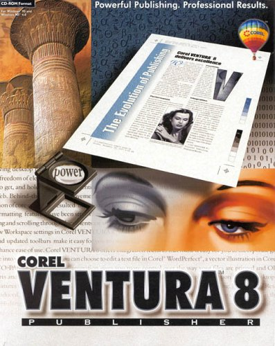Corel VENTURA 8 Publisher Πρόγραμμα Desktop Publishing CV80ENGO