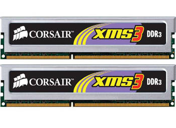 CORSAIR XMS3 4GB kit/1333MHz/DDR3/PC-10600 TW3X4G1333C9A