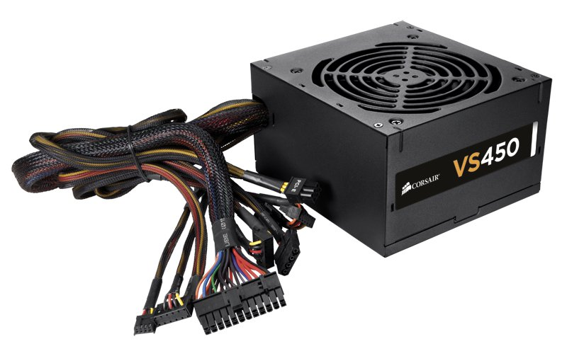 Τροφοδοτικό CORSAIR 450W Silent 12cm Fan VS450