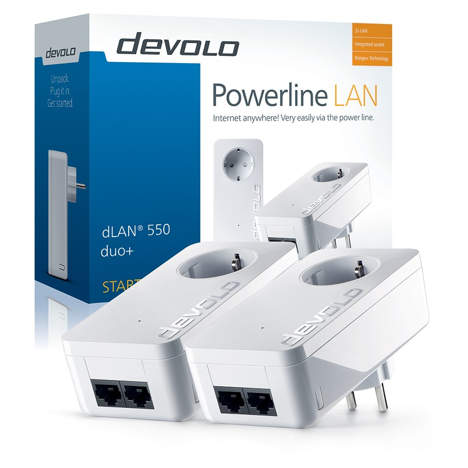 DEVOLO Powerline dLAN 550 duo+ Starter Kit 9303