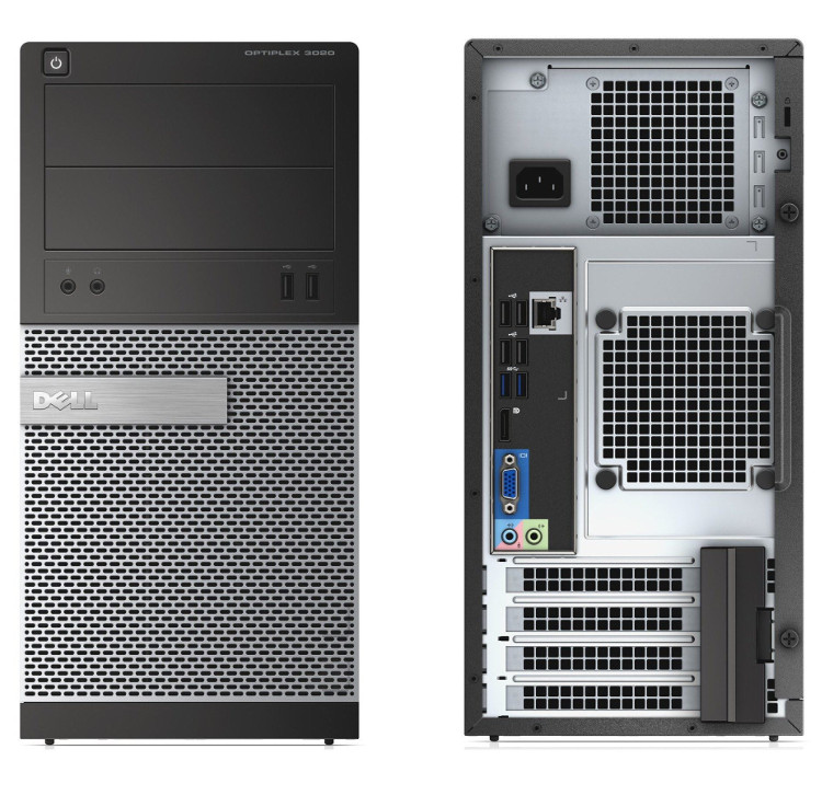DELL PC Optiplex 3020 MT i5-4690S/4G/500G/DVD/W7PRO #RFB