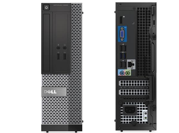 DELL PC OptiPlex 3020 SF Intel i3-4150 3.50/4G/500Gb/Win7Pro/5Y