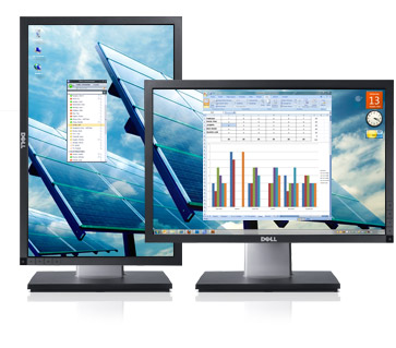 "DELL 19"" TFT P1911 LCD 1440x900/50000:1/250cd/5ms/DVI/USB"