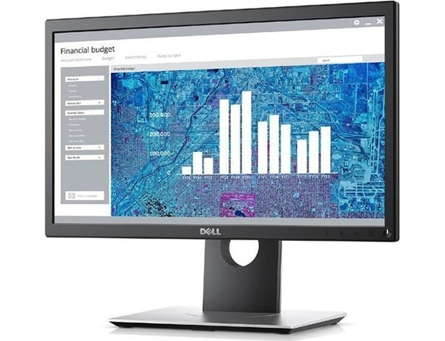 Monitor Dell 20'' P2017H 1600Χ900/250cd/HDMI/USB3/DP