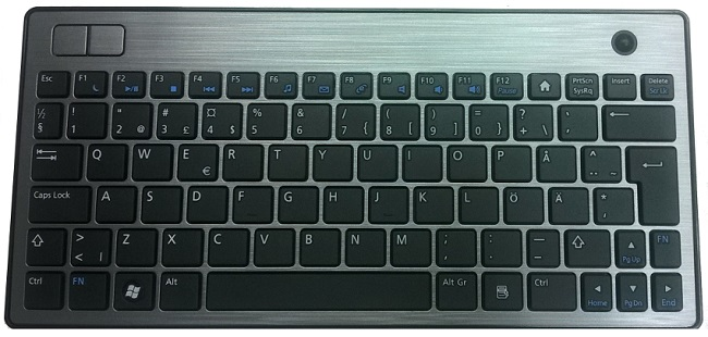 Dell Wireless Keyboard Trackpad 410 USB 25VN6 SWE
