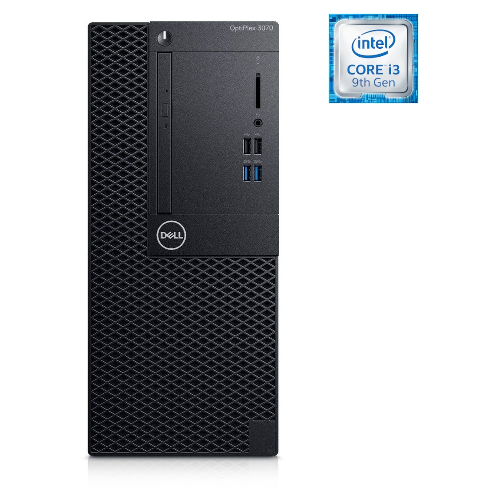 DELL PC OptiPlex 3070 MT i3-9100 8Gb-1Tb W10P 5YW DRW