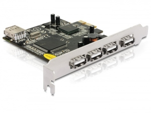 Delock PCI Express card USB 2.0 4+1 Port  (PCI Express to USB)