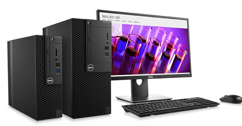 DELL PC OptiPlex 3050 MT Intel i3-7100/4Gb/256SSD Win10 Pro