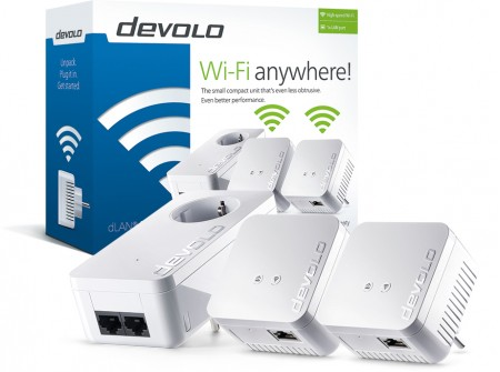 DEVOLO Powerline dLAN 550 WiFi Network Kit 9645