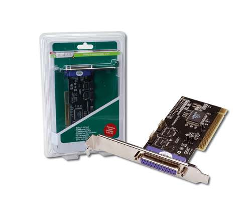 Κάρτα Digitus PCI Combo Card Serial 2Port+1P Parallel DS-33040
