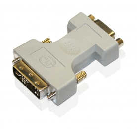 Adaptor Changer DVI-Analog to VGA 12+5M/VGA 15F Μετατροπέας