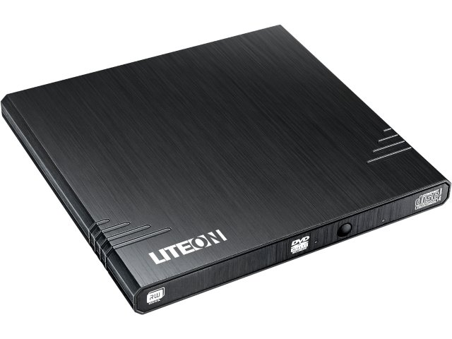 Lite On eBAU108 External DVD-RW Εξωτερικό USB 8x DL Black