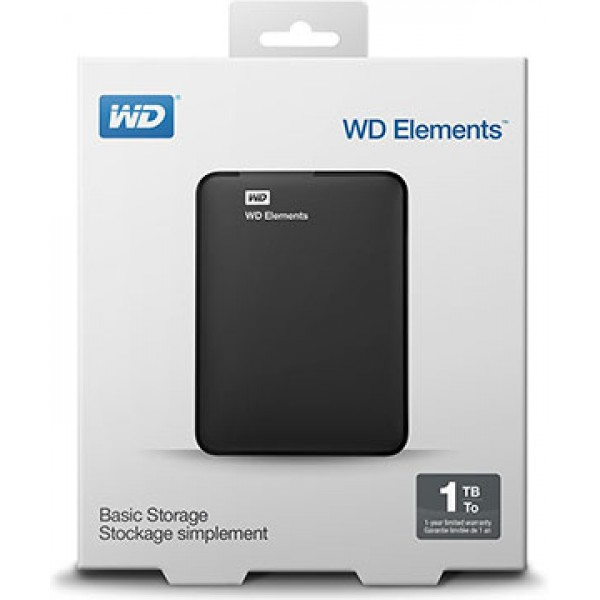Western Digital HDD 1Tb Elements Portable USB3.0