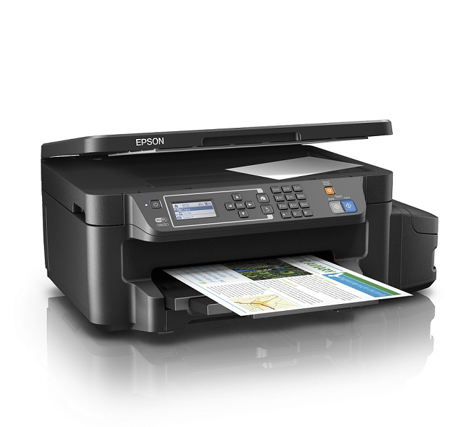 EPSON Multifunction L605 ITS. Duplex A4/33ppm/4800/PSC Color