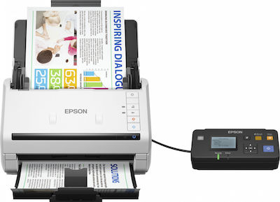 EPSON SCANNER WorkForce DS-530N A4/600dpi/USB-LAN Ταχυσαρωτής