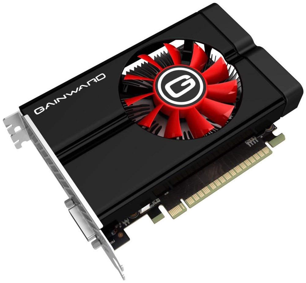 GainWard VGA GTX1050Ti 4GB/D5 PCIE3x16 D-H-DP 2SL-FAN