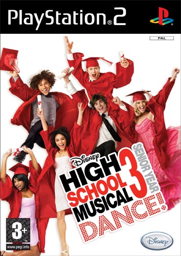 PS2-GAME : High School Musical 3 Dance