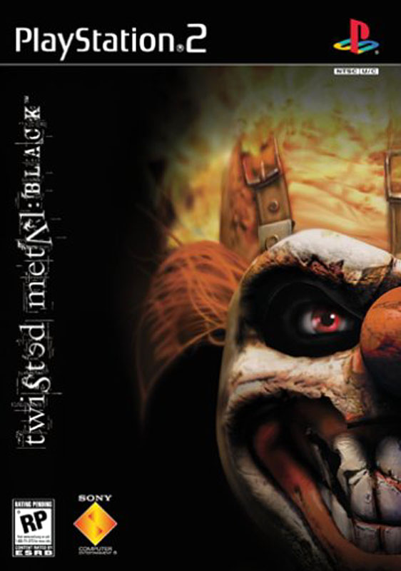 PS2-GAME : Twisted Metal: Black