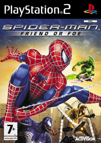 PS2-GAME : Spider-man : friend or foe