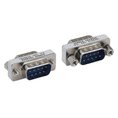 Adaptor Gender Changer Serial 9pin Male/Male (M/M) DB9M/DB9M
