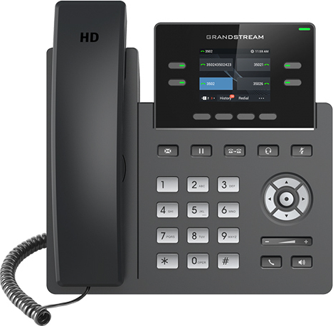 Τηλέφωνο IP Grandstream GRP2612P HD Car-Gr IP Phone