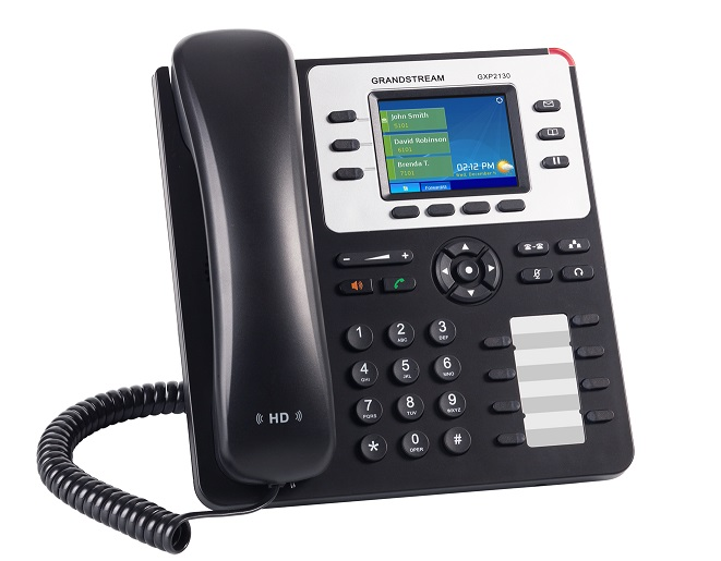 Τηλέφωνο IP Grandstream GXP2130 IP Phone (with PoE) 3SIP+8Keys C