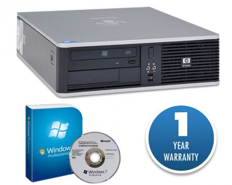 HP PC DC7900 E8400/4GB/160GB/DVD/Win7Pro #RFB