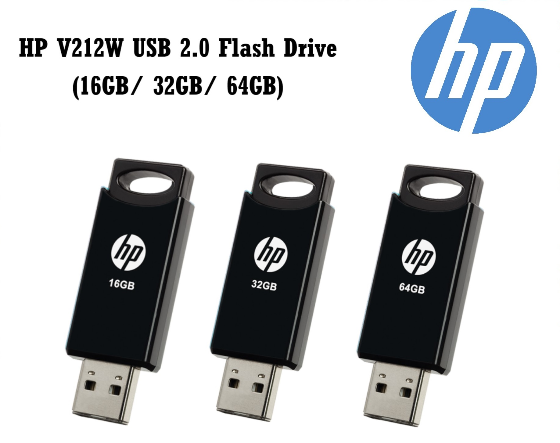 Flash HP 32GB USB 2.0 Stick