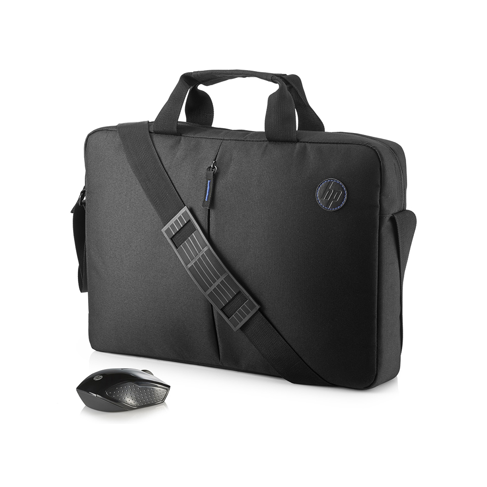"Τσάντα Laptop HP 15,6"" Value Briefcase+Wireless Mouse 2GJ35AA"